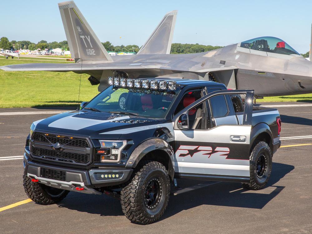 Ford F-22 F-150 Raptor: Performance-Unikat im Stile eines Air-Force ...