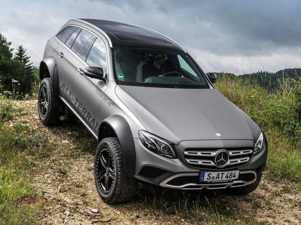 Bild zu Mercedes E-Klasse All-Terrain 4x4²