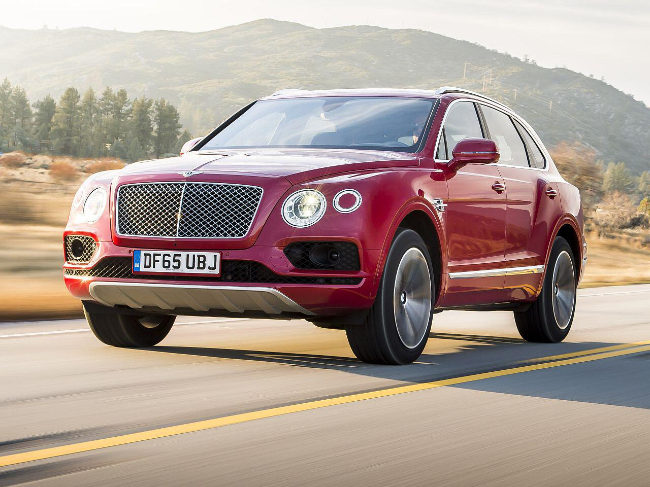 Bild zu Bentley Bentayga V8