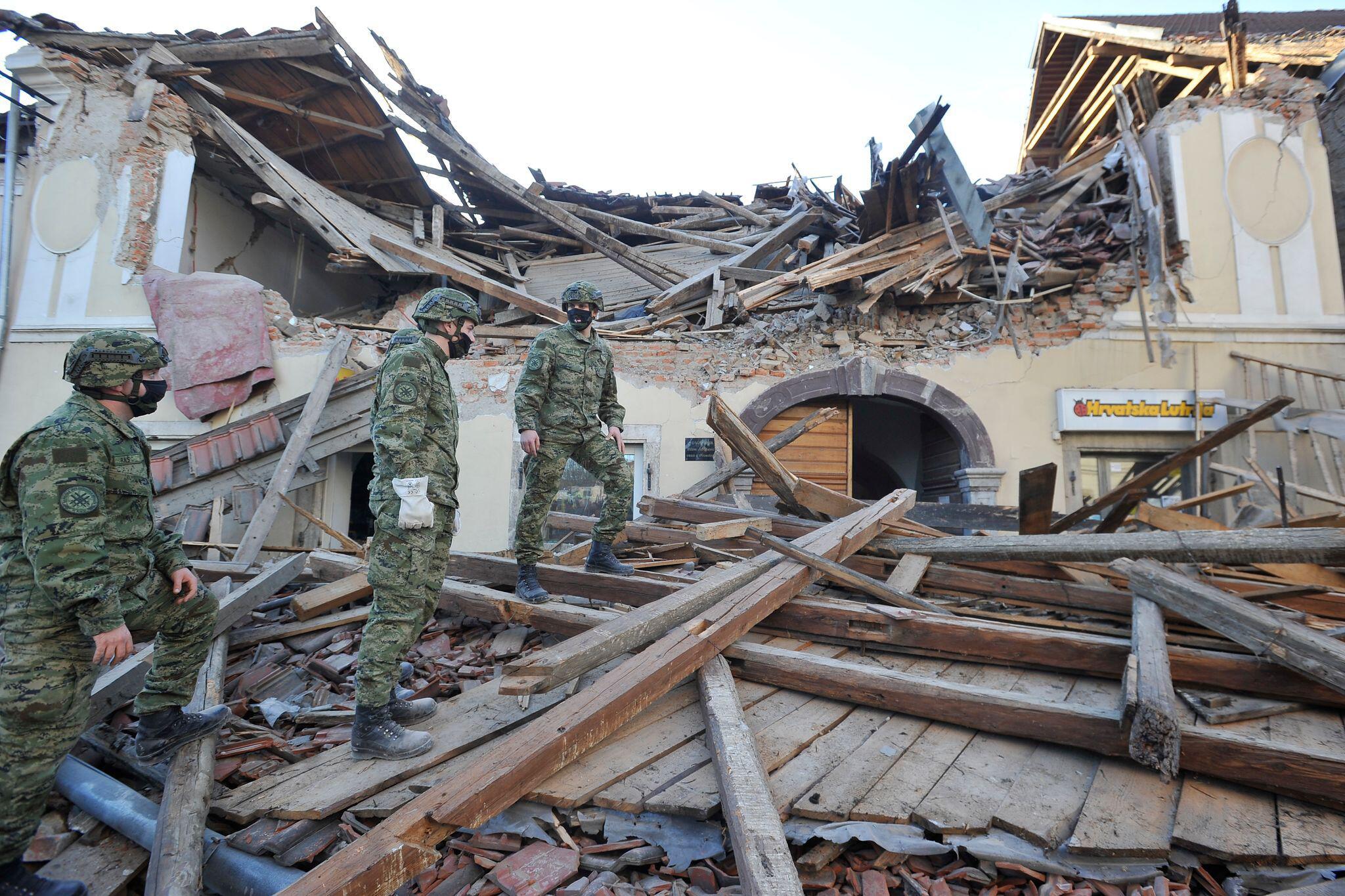 Bild zu Weitere Erdbeben in Kroatien