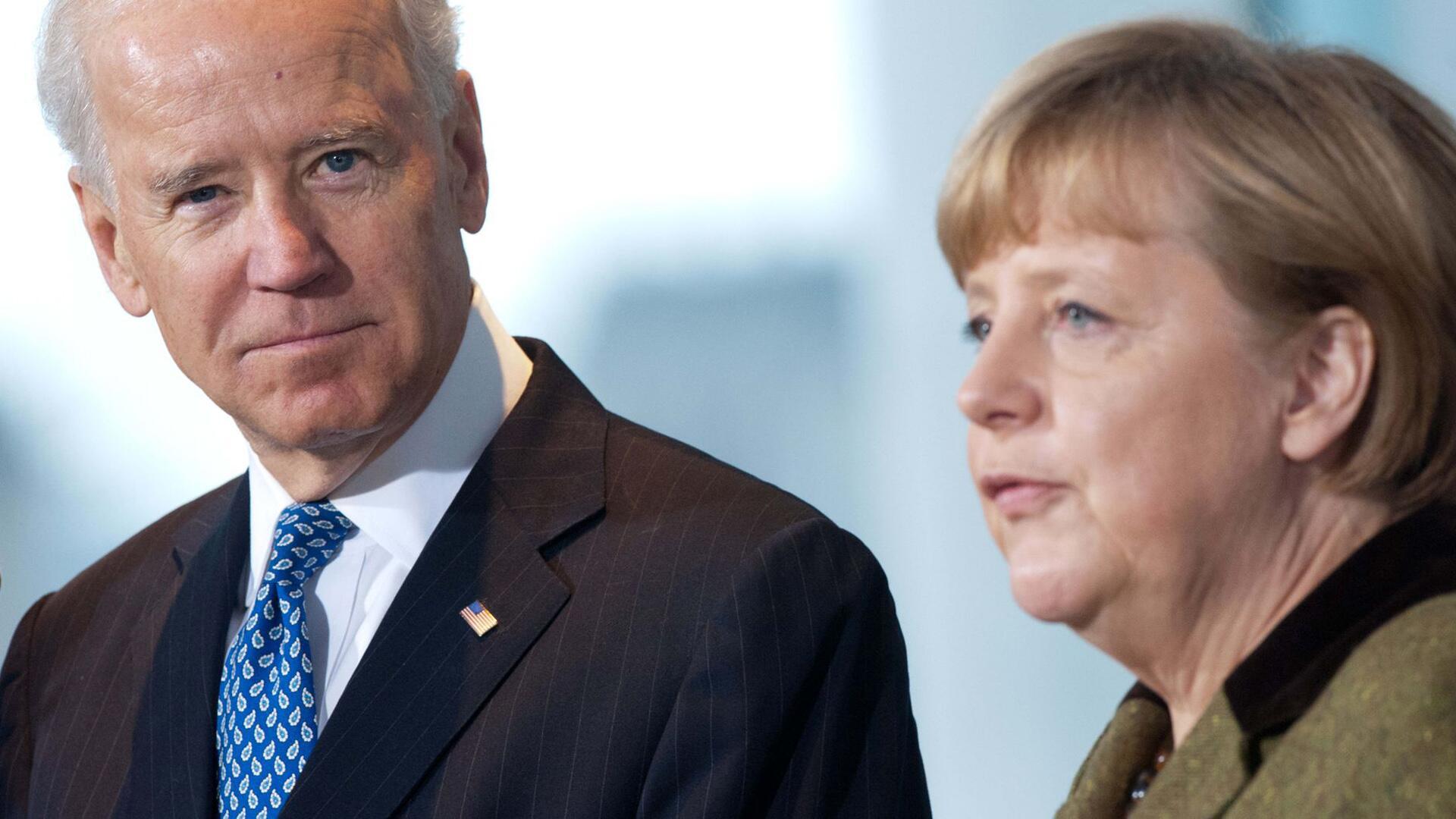 Bild zu Biden und Merkel bei G7-Gipfel und Sicherheitskonferenz