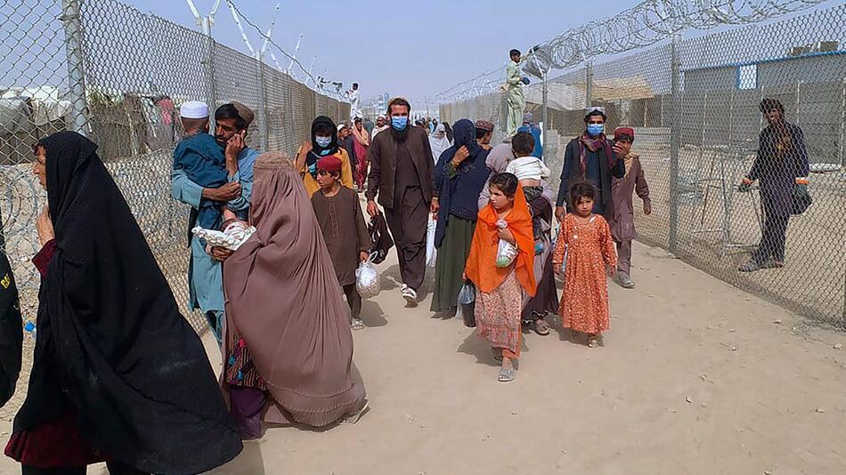 Konflikt in Afghanistan - Pakistanische Grenzübergangsstelle
