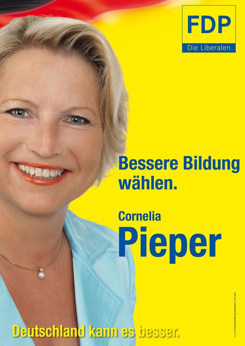Bild zu FDP-Wahlplakat