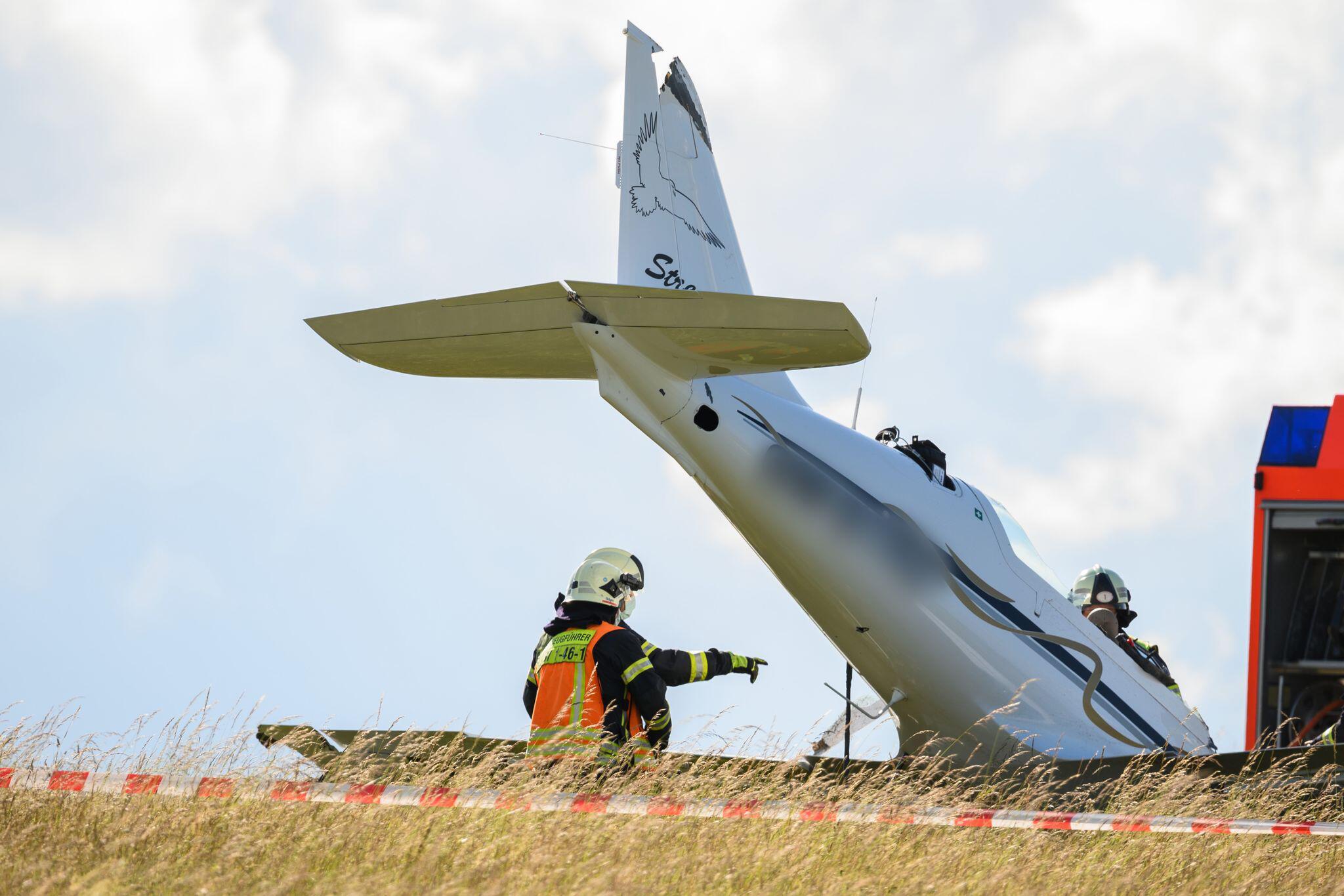 Bild zu Toter bei Flugzeugabsturz
