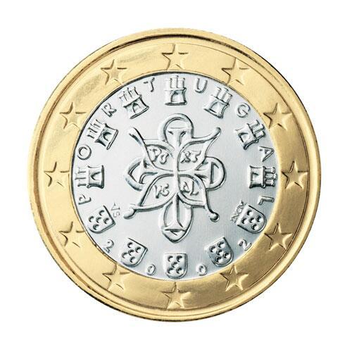 Bild zu 1-Euro-Münze aus Portugal