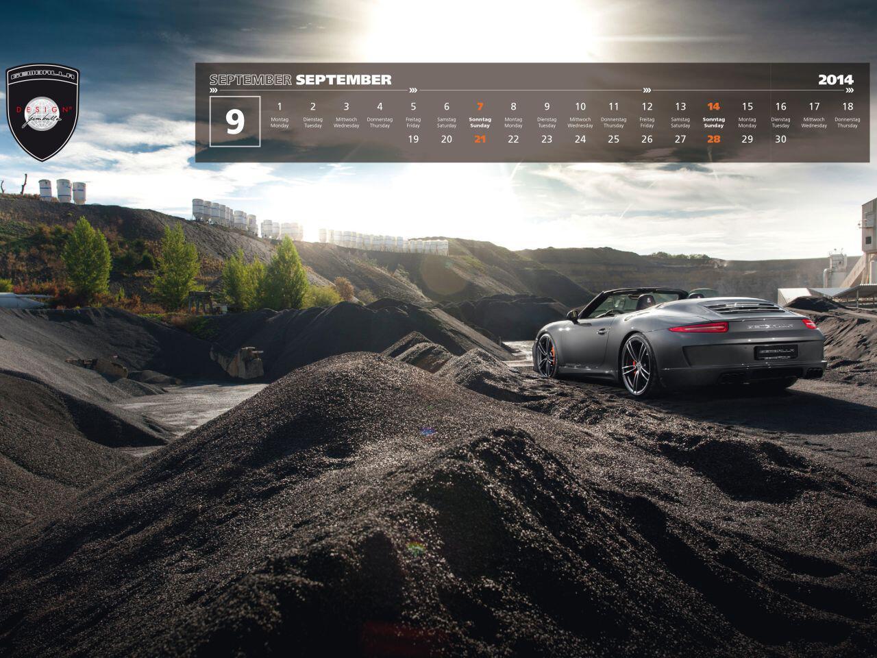 Bild zu Herrliche Panoramaaufnahme eines aktuellen Porsche 911 Cabrio