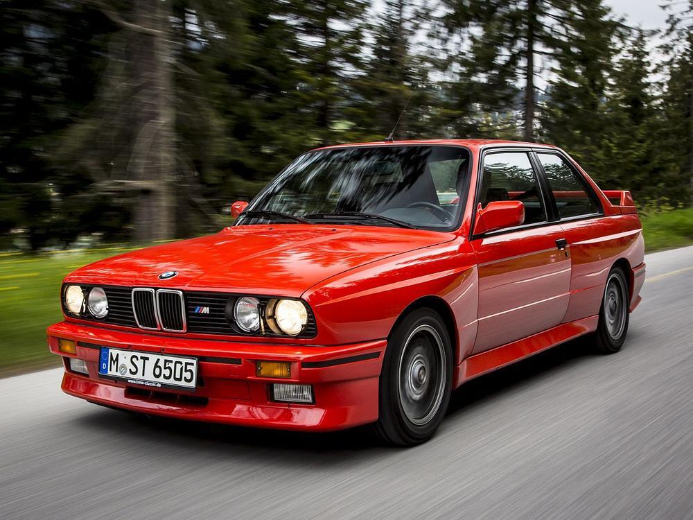 Bild zu Platz 7: BMW M3 (E30)