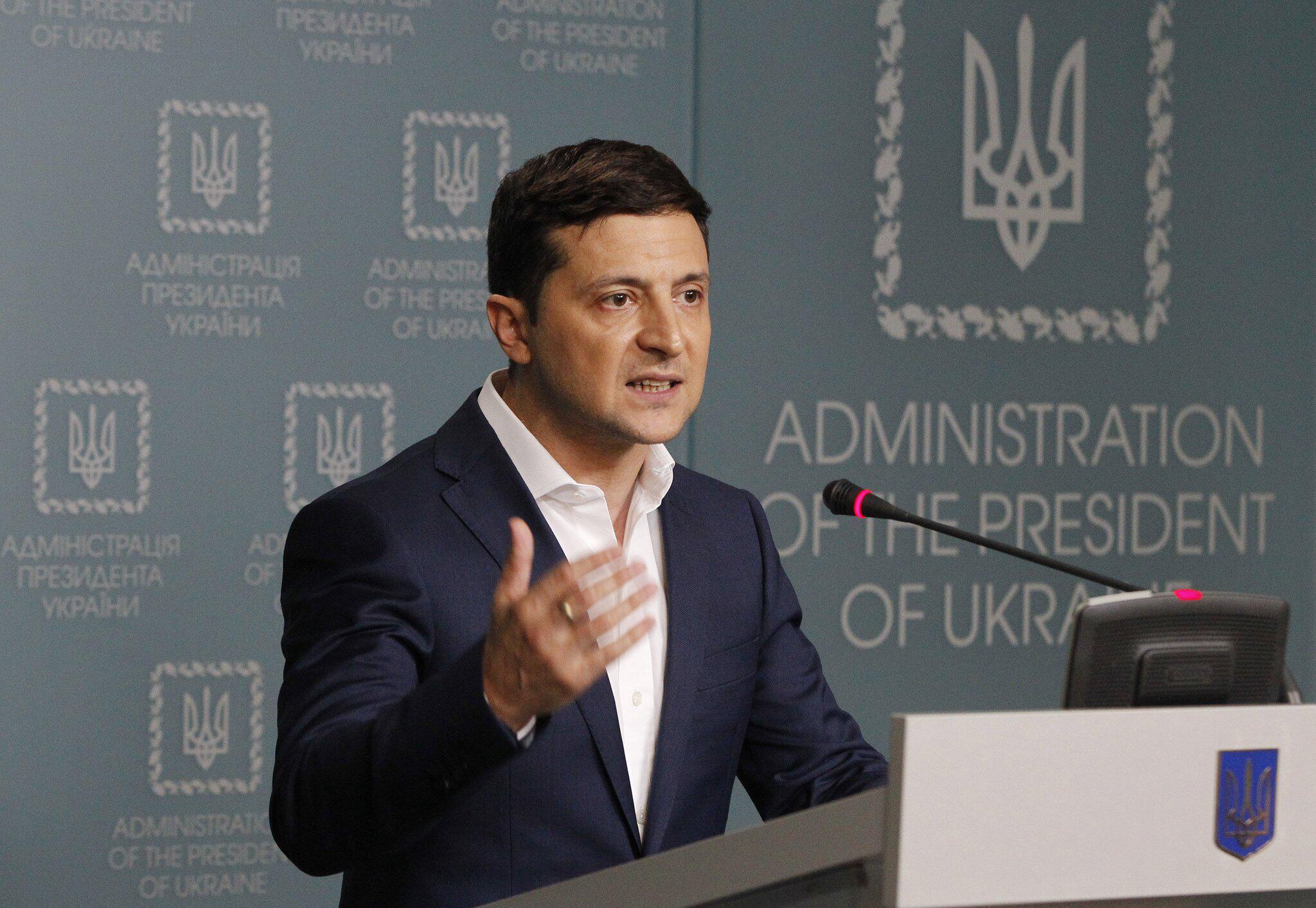 Bild zu Selenskyj wirft Außenminister der Ukraine Sabotage vor