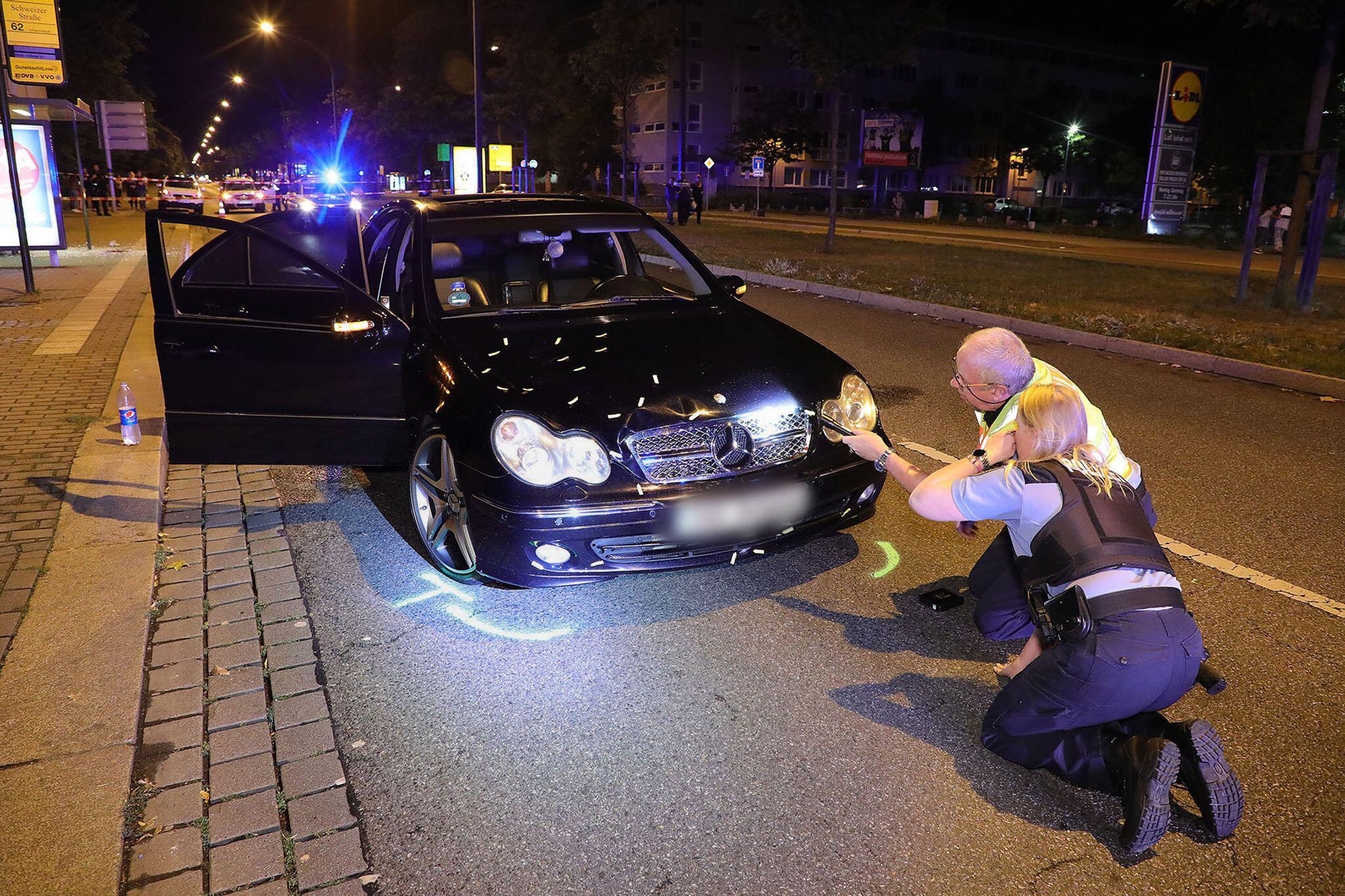 Bild zu Verkehrsunfall in Dresden