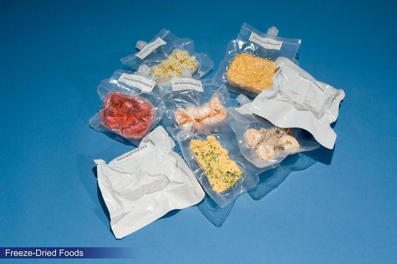 Bild zu Gefriergetrocknete Astronauten-Speisen