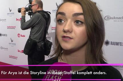 "Game of Thrones""-Staffel: Maisie Williams verrät Details!"