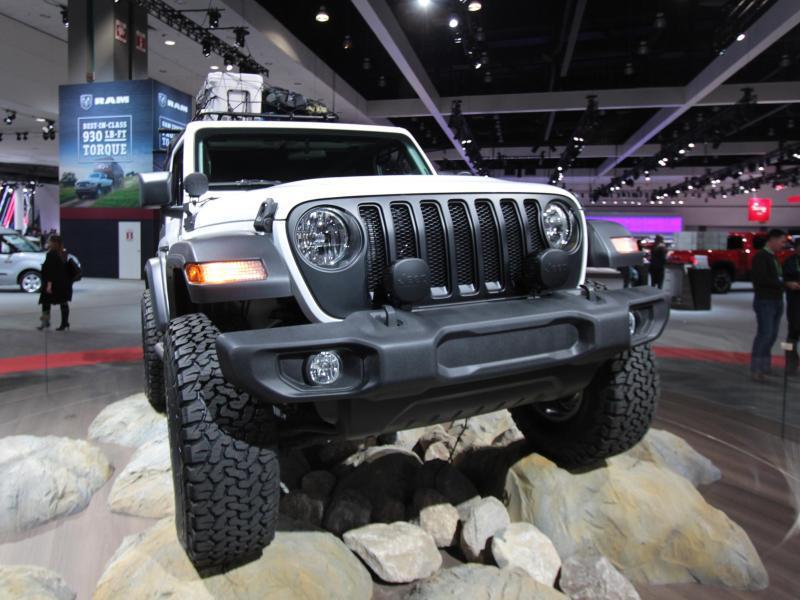 Bild zu Neuer Jeep Wrangler