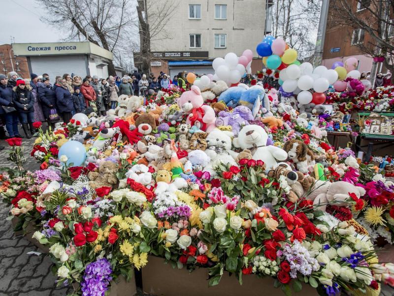 Bild zu Nach Brand in Russland
