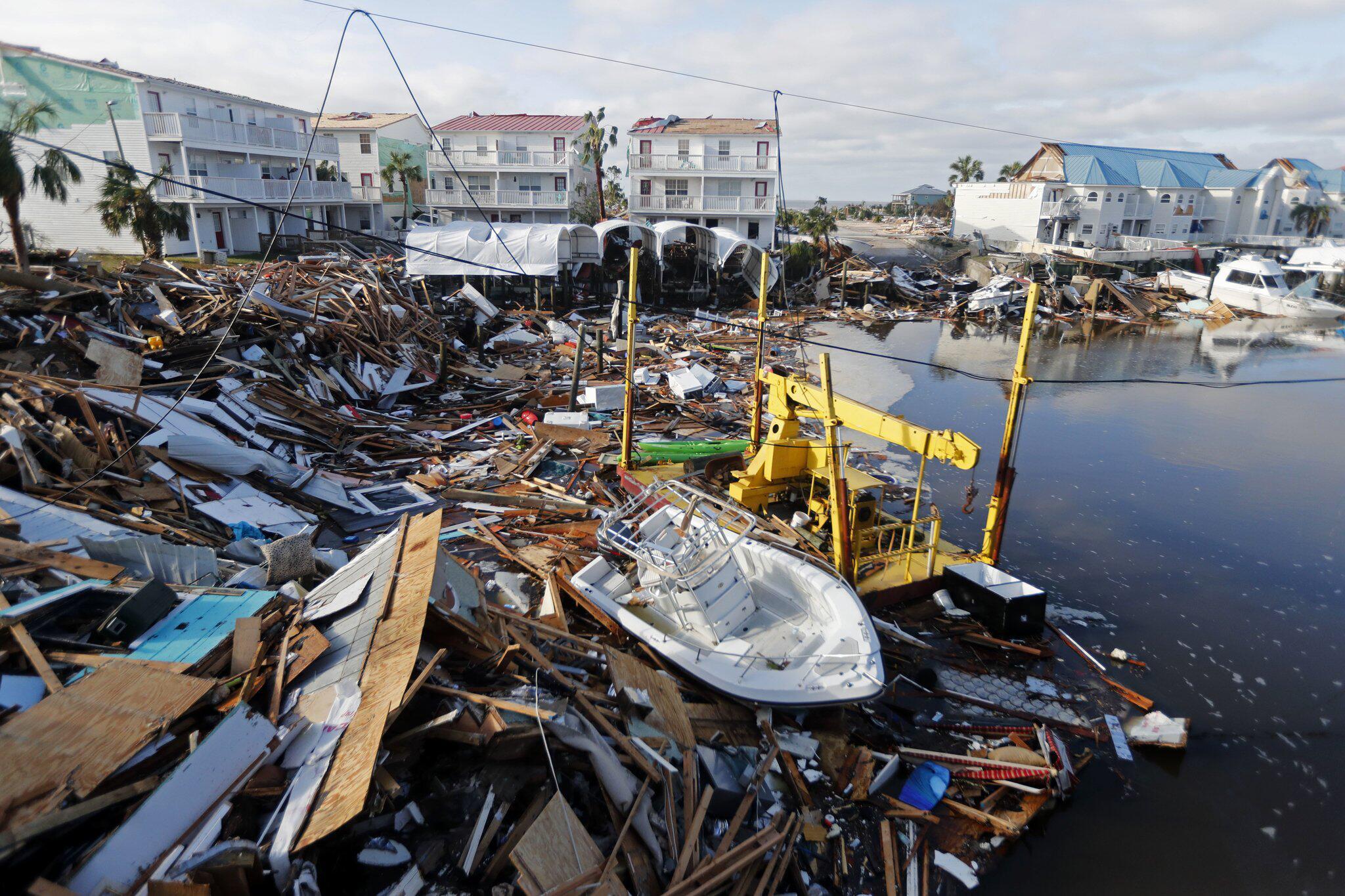 Bild zu Hurrikan «Michael»