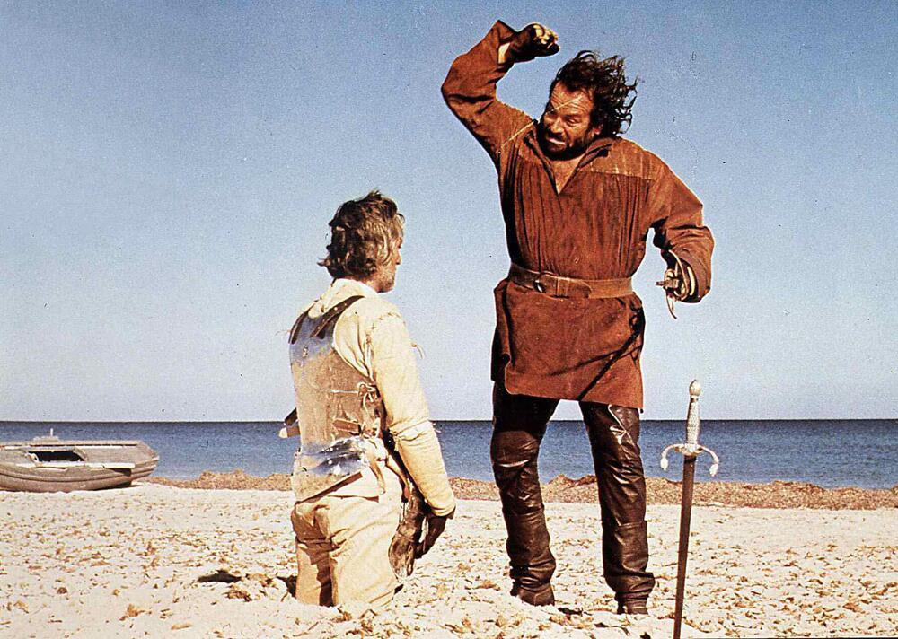 """Bild zu Bud Spencer 1975 in """"Hecotor, der Ritter ohne Furcht und Tadel"""""""