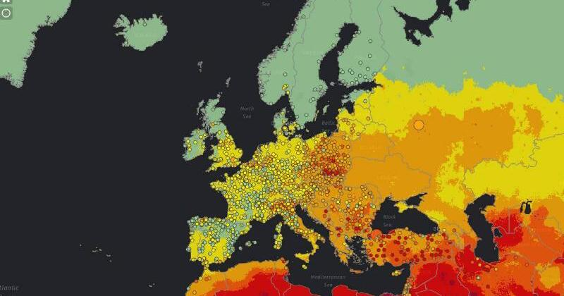 luftverschmutzung weltweit karte der who gibt auskunft ber umwelts nder web de. Black Bedroom Furniture Sets. Home Design Ideas