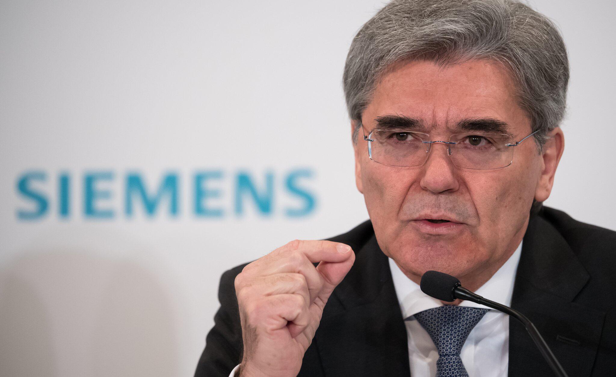 Bild zu Siemens-Chef Kaeser
