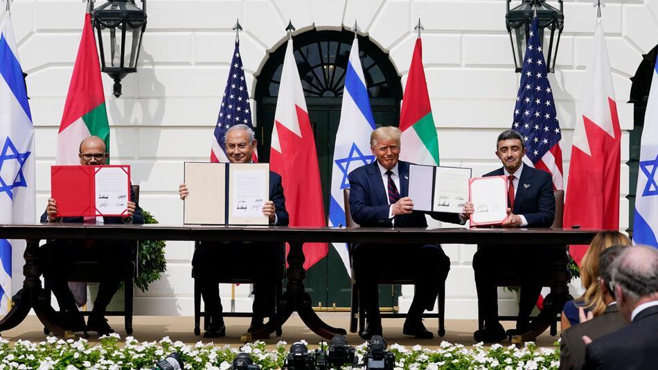 Abkommen Israels, Bahrains und der VAE