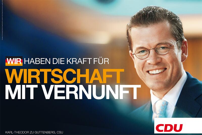 Bild zu CDU-Walplakat