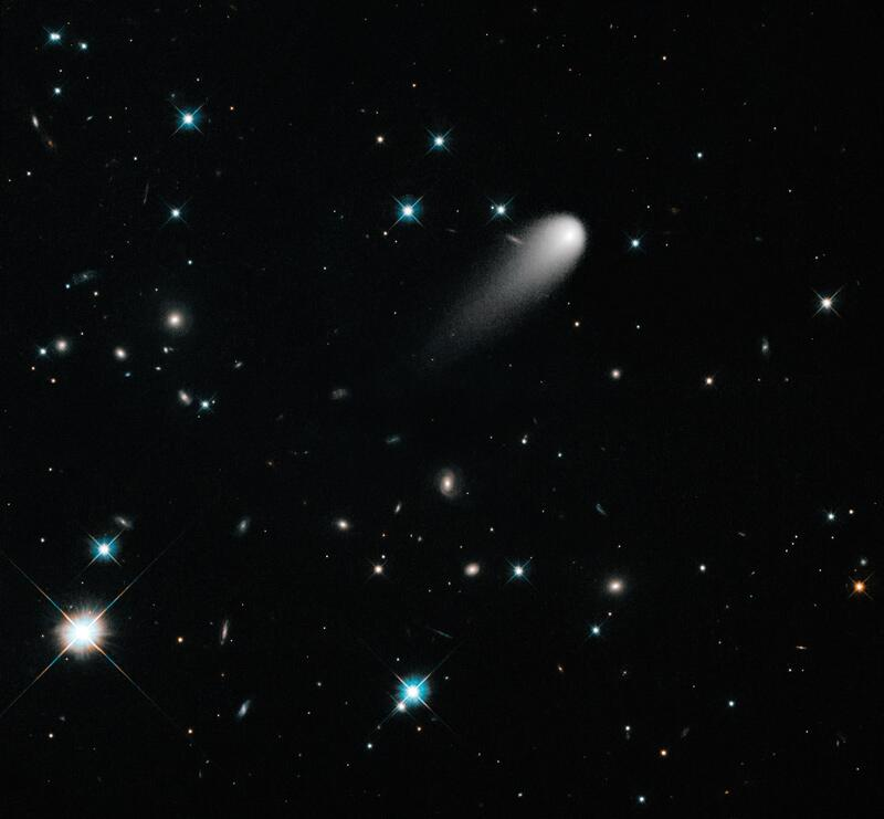 Bild zu Komet Ison