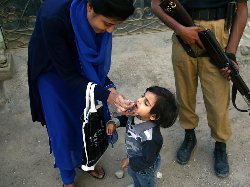 Bild zu Kampf gegen Polio