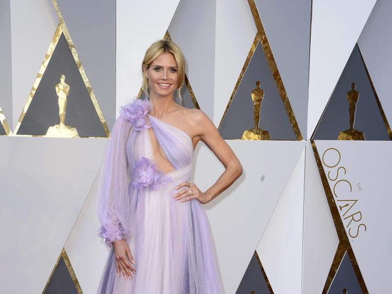 Bild zu Oscars - Heidi Klum