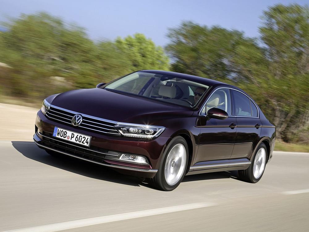 Bild zu Platz 1 Mittelklasse: VW Passat