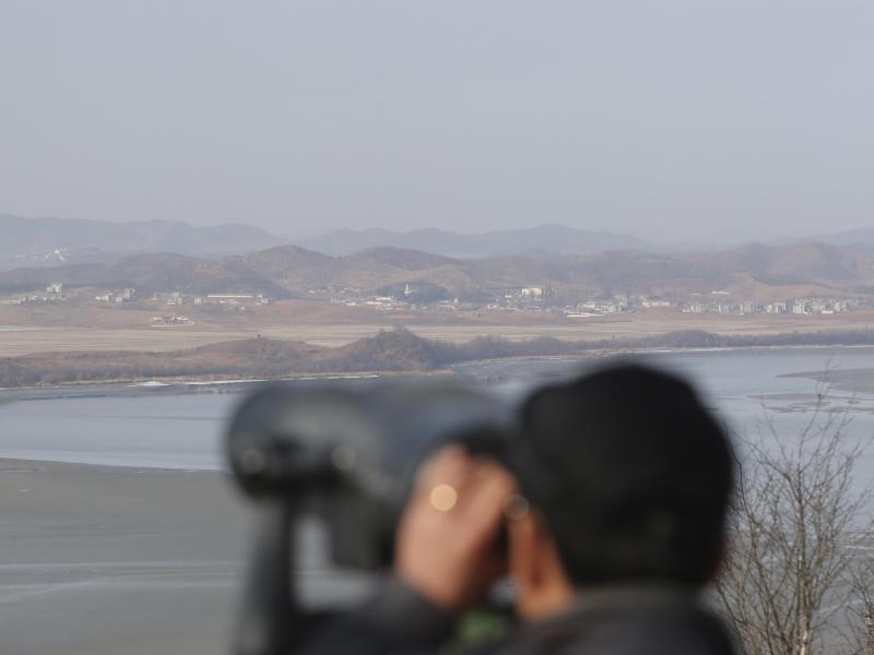 Bild zu Grenze zwischen den Koreas