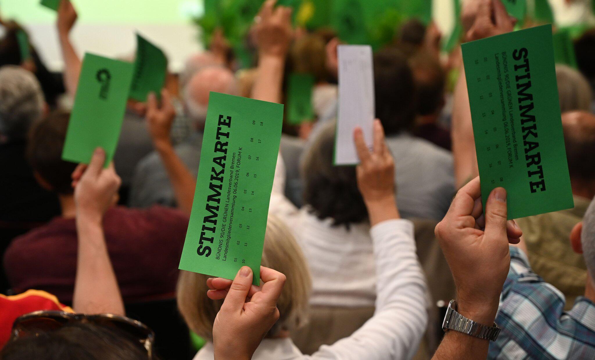 Bild zu Landesmitgliederversammlung der Grünen