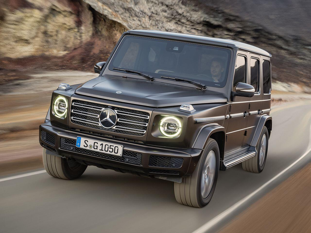 Bild zu Mercedes-Benz G-Klasse