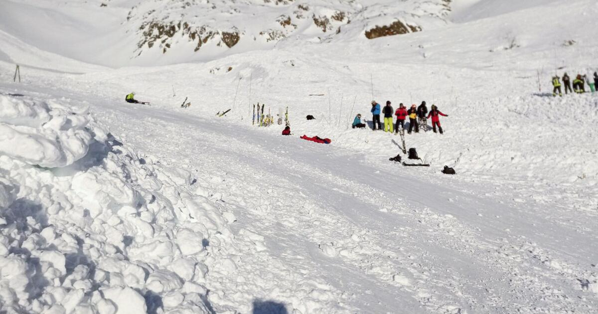 Südtirol: Schock über Lawine -