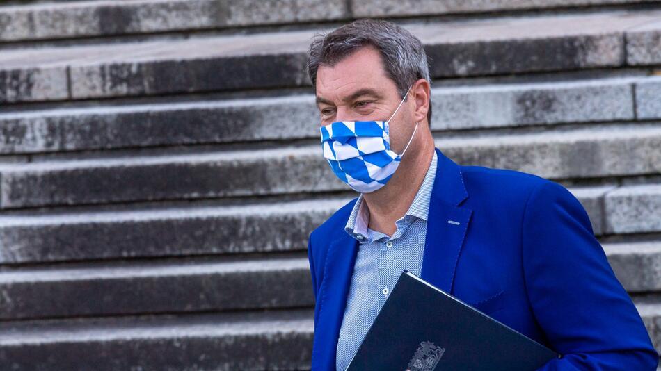 Söder leitet außerplanmäßige Videokonferenz des Kabinetts