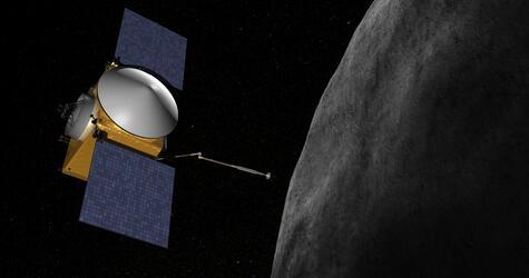 Osiris-Rex - Nasa-Sonde soll Probe von Asteroid Bennu nehmen