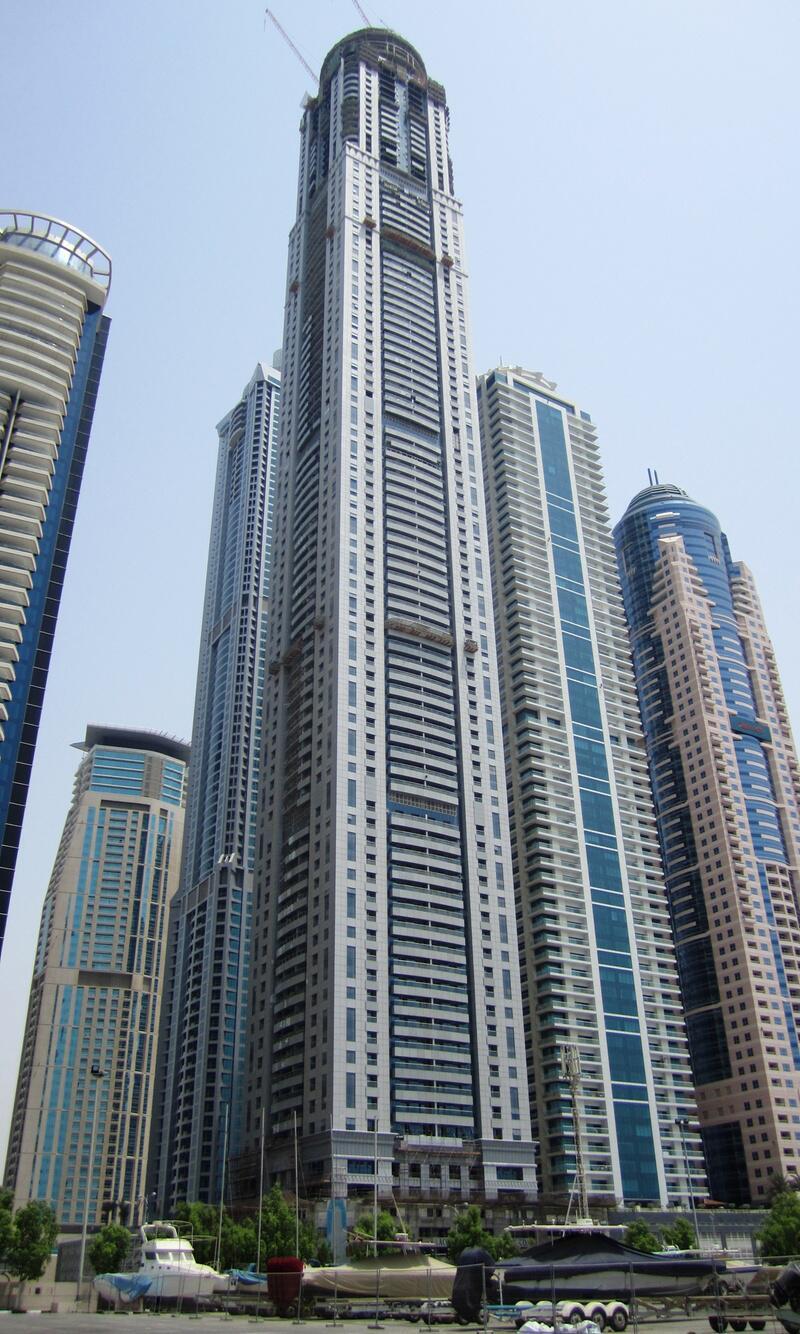 Bild zu 414 Meter: Princess Tower