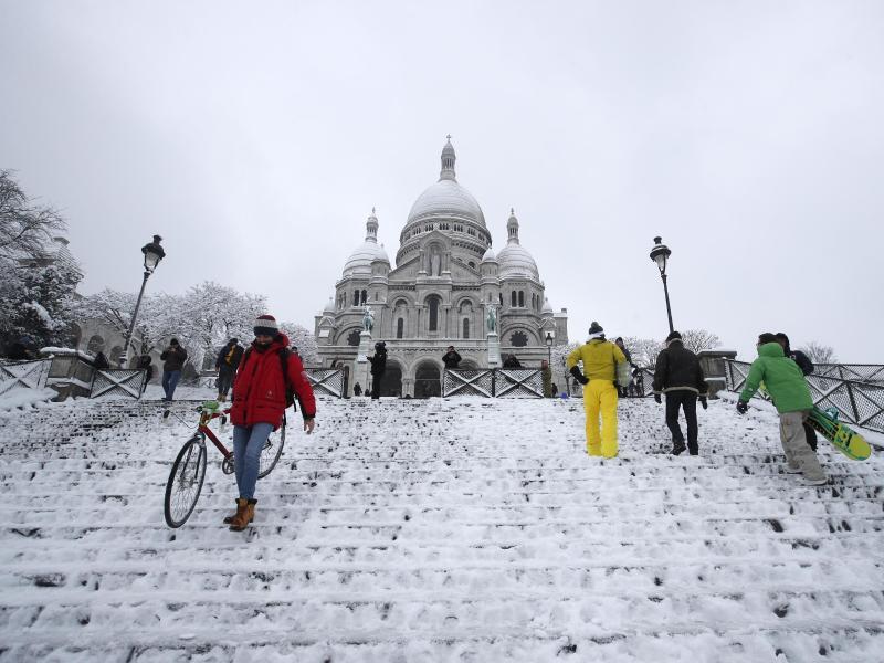 Bild zu Schneebedeckt