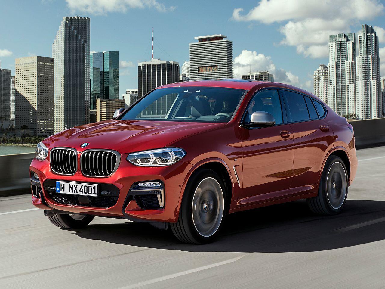 Bild zu BMW X4
