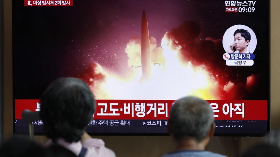 Erneuter Raketentest von Nordkorea