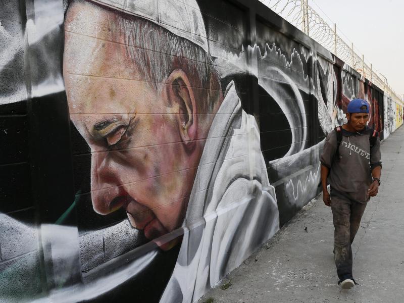Bild zu Papstbesuch in Mexiko