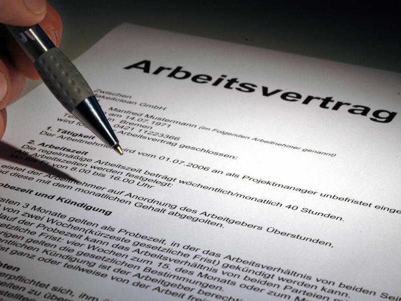 Drei Mythen Rund Um Den Arbeitsvertrag Webde