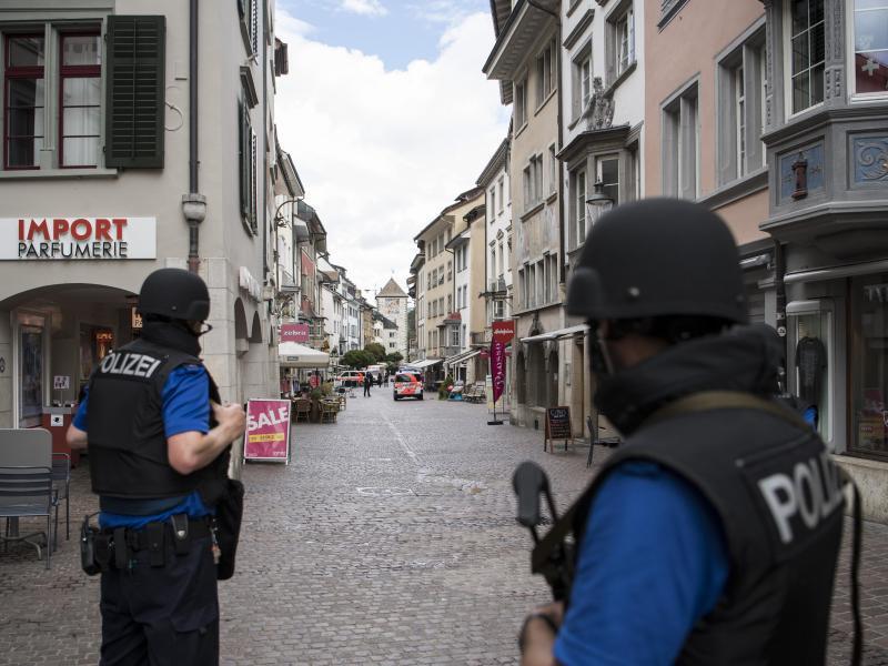 Bild zu Polizeieinsatz in Schaffhausen