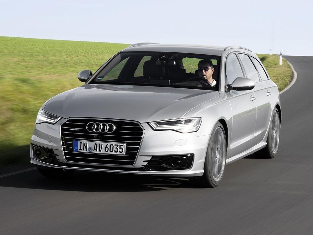 Bild zu Obere Mittelklasse: Platz 3 - Audi A6