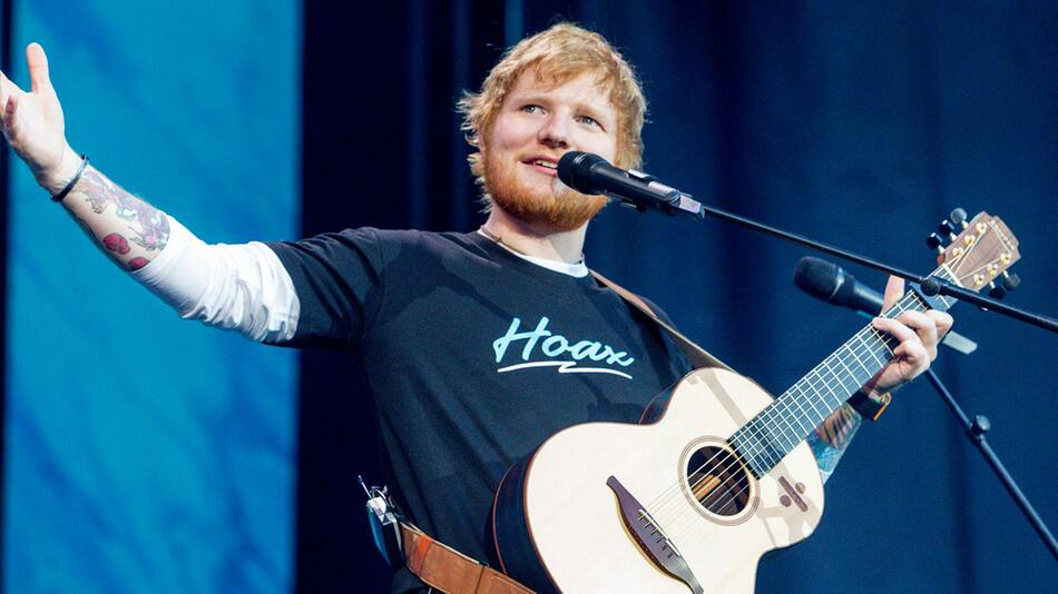 Ed Sheeran in Madrid
