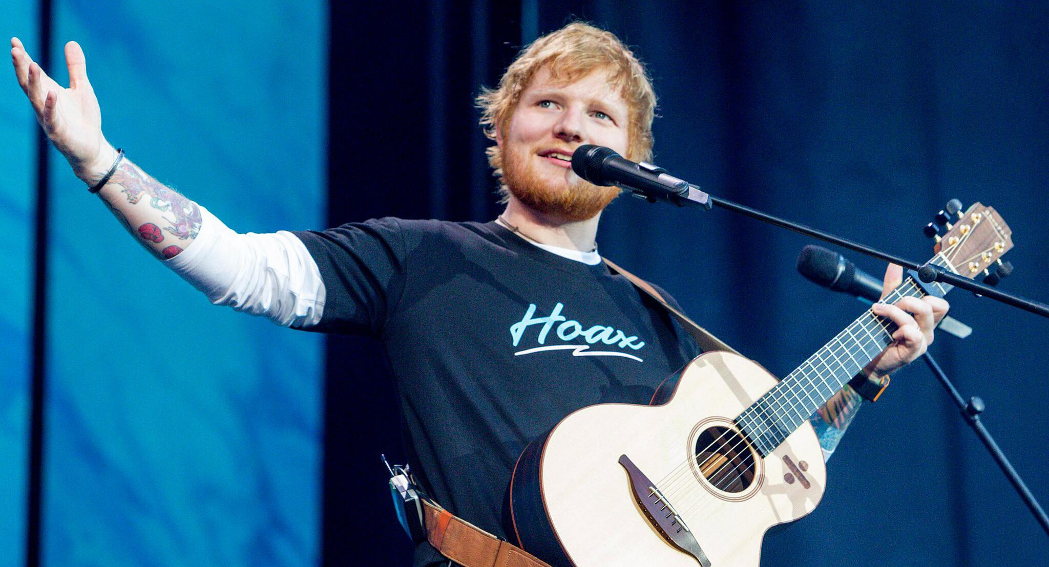 Bild zu Ed Sheeran in Madrid