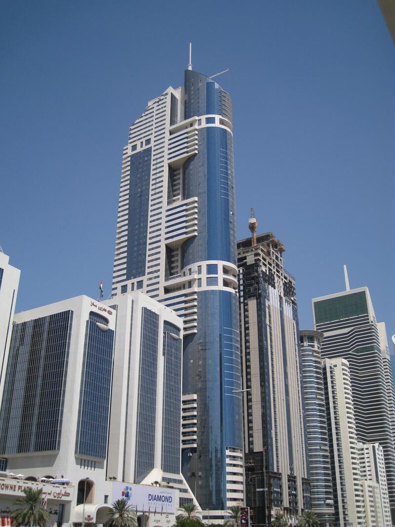 Bild zu 317 Meter: HHHR Tower