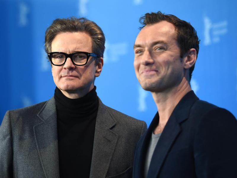 Bild zu Colin Firth & Jude Law in Berlin