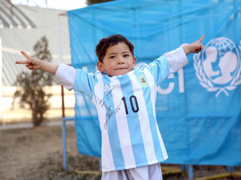 Bild zu Messi-Fan Murtasa