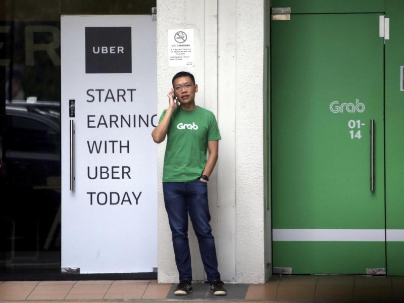 Bild zu Uber und Grab in Singapur