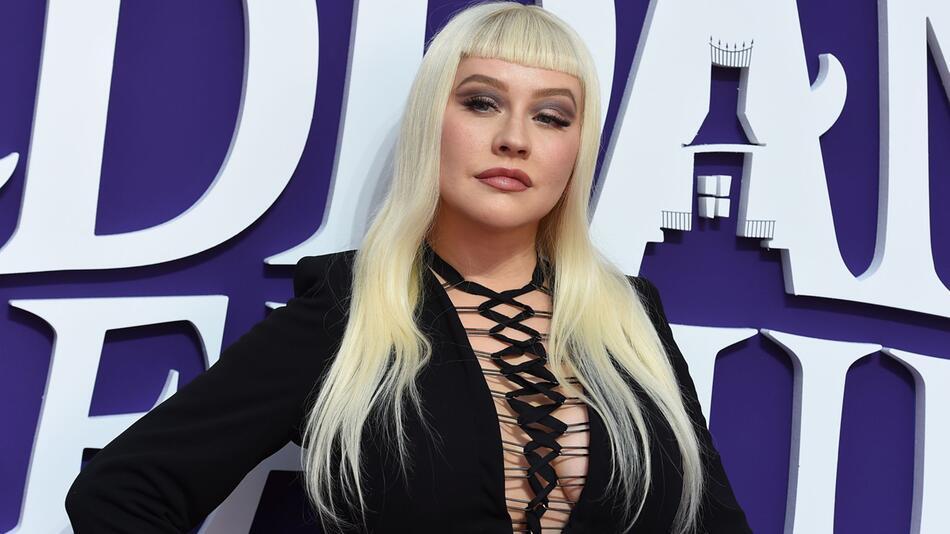 Popsängerin Christina Aguilera