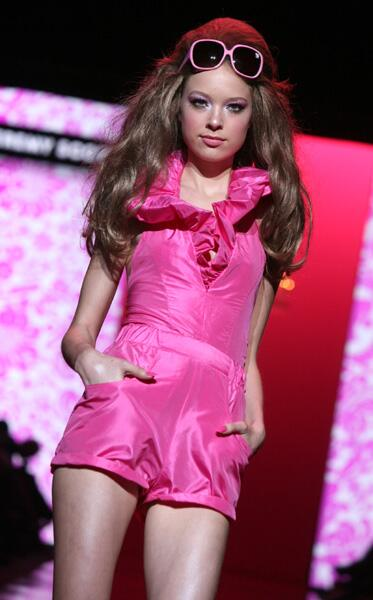 barbie modenschau
