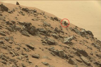 Pyramide auf dem Mars